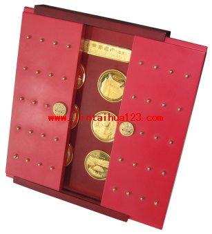 金银币黄金城gc盒8